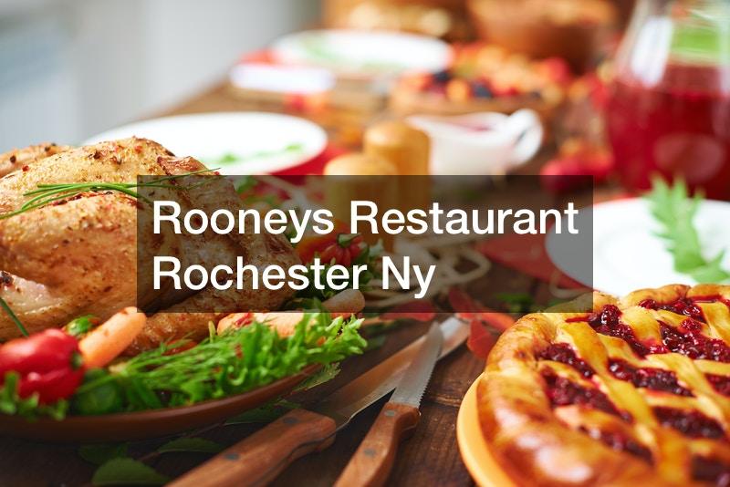 Rooneys Restaurant Rochester Ny